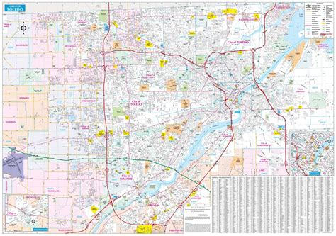 Toledo & Northwest Ohio Map