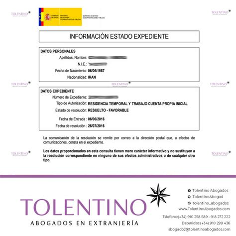 Tolentino Abogados on Twitter:  Permiso de #residencia ...