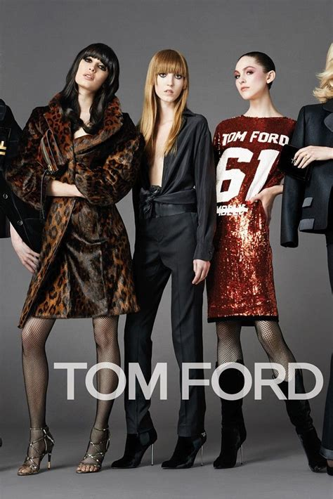 Tom Ford's Fall Ads Spotlight Individual Style | Tom ford ...