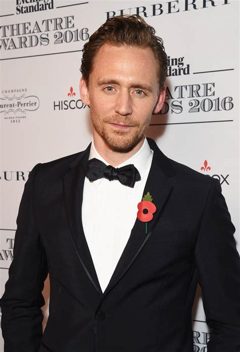 Tom Hiddleston attends the Evening Standard Theatre Awards ...