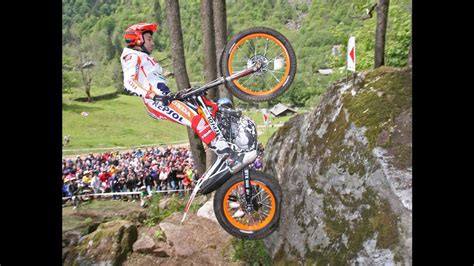 Toni Bou motorcycle trials skills - YouTube