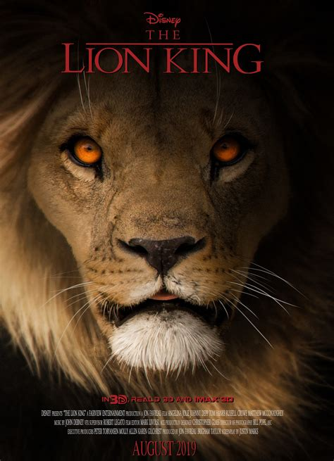 Tony Camehl   The Lion King  concept/poster