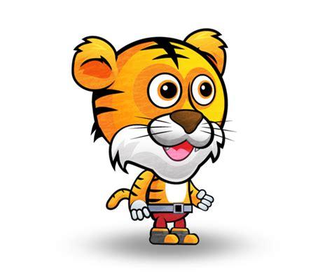 Tony the Tiger Character Set Royalty Free Game Art