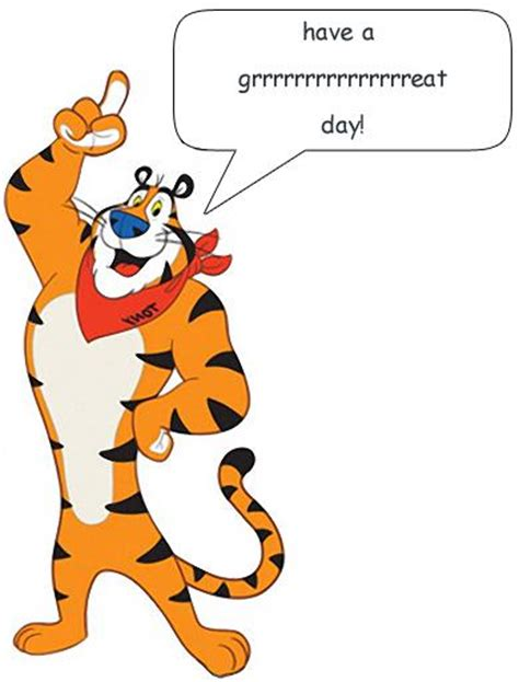 Tony The Tiger Clipart - Clipart Suggest