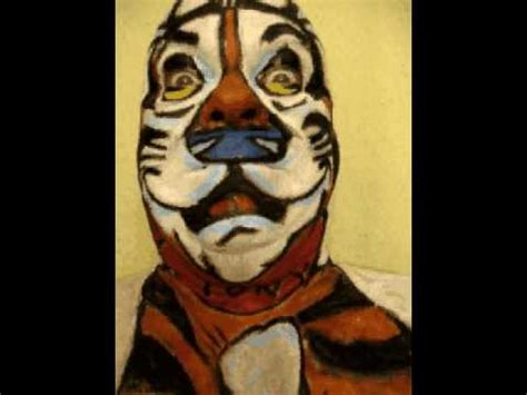 TONY The Tiger! facepainting Mini Movie! Artist James Kuhn ...
