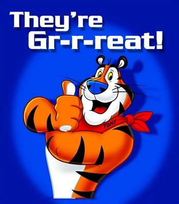 Tony The Tiger Great