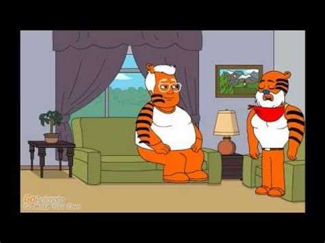 Tony the Tiger Sells Samples Of His Cereal   YouTube
