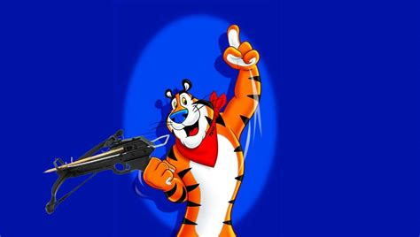 Tony the Tiger shoots dentist while on holiday in Minnesota