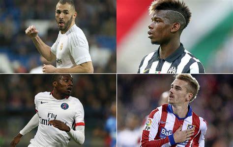 Top 10 de futbolistas franceses en 2015 - France Football ...
