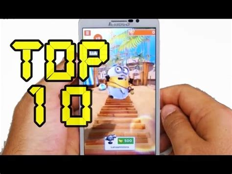 TOP 10 JUEGOS ANDROID DE CORRER GRATIS   VIDEO HD   / TOP ...