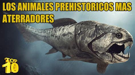 Top 10   Los animales prehistóricos más peligrosos   YouTube