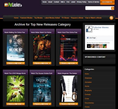 Top 10 Putlockers Sites to Watch Movies Online for Free ...