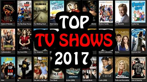 Top 10 TV Shows in 2017 | TOP TV Shows - YouTube