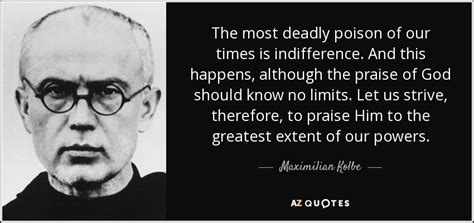 TOP 17 QUOTES BY MAXIMILIAN KOLBE   A Z Quotes