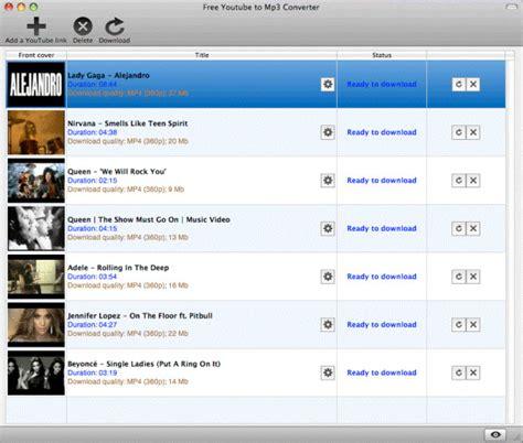 Top 22 Free YouTube to MP3 Converter vous pourriez avoir ...