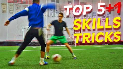 TOP 5+1 Amazing Football Skills To Learn Tutorial Thursday ...
