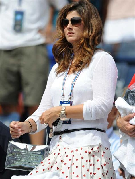 TOP 5 court side tennis WAGs