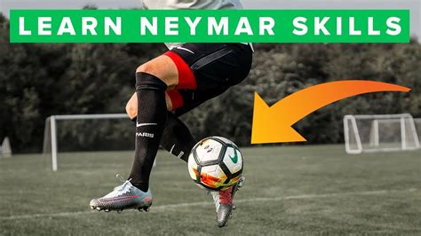 TOP 5 Neymar football skills - YouTube