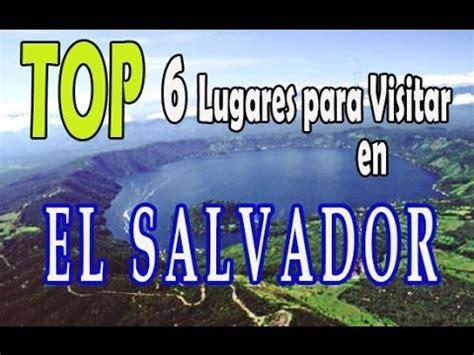 TOP 6 Lugares para visitar en El Salvador - YouTube