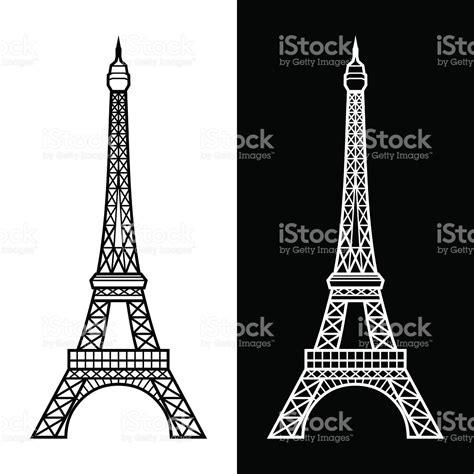 Torre Eiffel Illustracion Libre de Derechos 151935612 | iStock