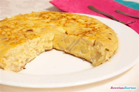 Tortilla española   Receta de cocina