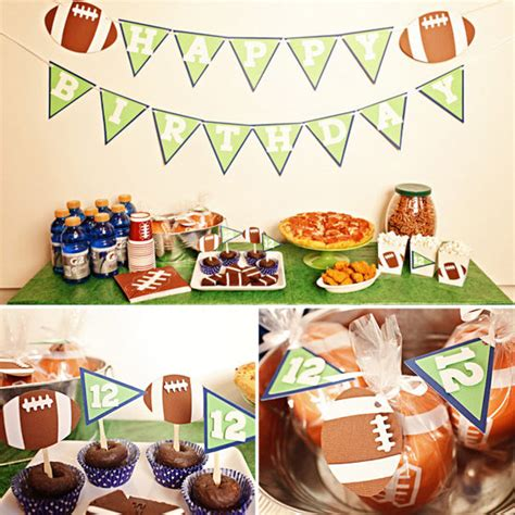 Touchdown Football Birthday Party Package  $52 ...