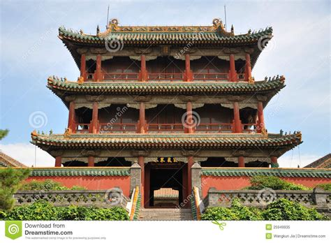 Tour De Phoenix, Palais Impérial De Shenyang, Chine Photo ...