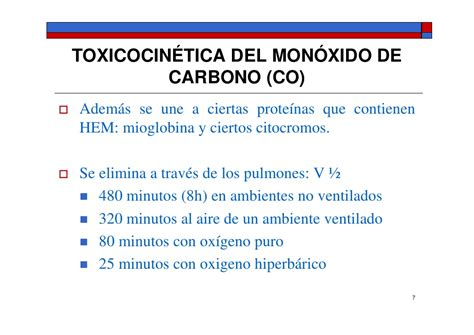 Toxicodinamia Del Co