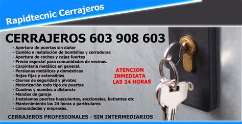 Trabajo De Cerrajero En Madrid. Cerrajero Urgente San Blas ...