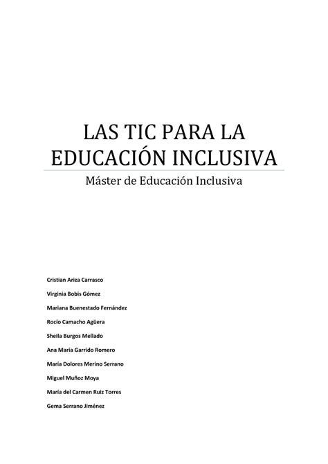 Trabajo de Julio Cabero by Rocio Camacho Agüera - issuu