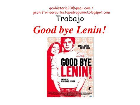 Trabajo good by lennin (1ºbach)