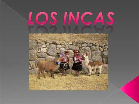 Trabajo incas