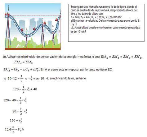 Trabajo y conservación de la energía mecánica ...