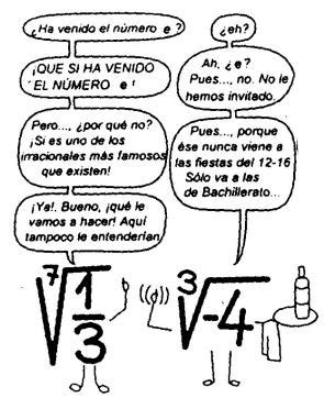Trabajos de números irracionales famosos. - Paperblog