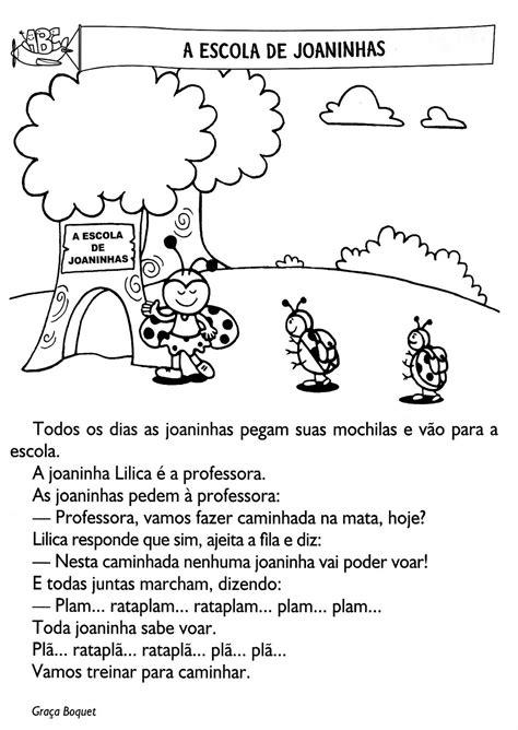 TRABALHAR COM INTERPRETAÇÃO DE TEXTO. ATIVIDADES PARA O 3º ...