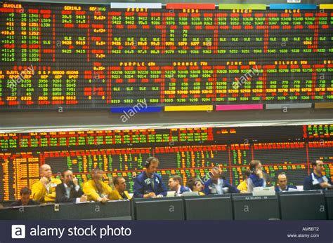 Trading Floor of the Chicago Mercantile Exchange Chicago ...