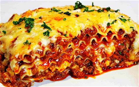 traditional italian lasagna recipe