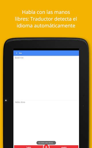 Traductor de Google para Android - Descargar Gratis
