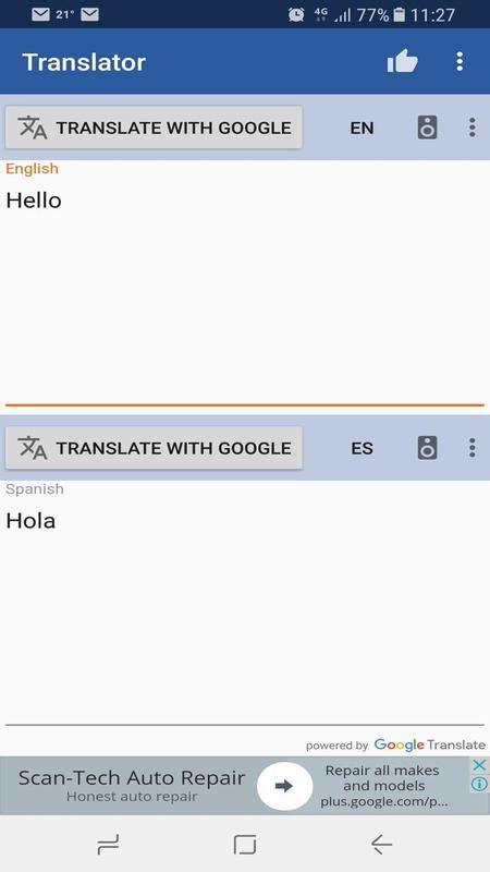Traductor de idiomas   traductor de voz Idiomas for ...