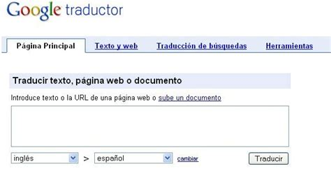 Traductor Google - Datines.com