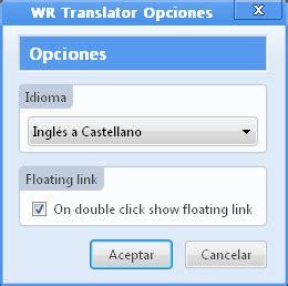 Traductor instantáneo de palabras para Firefox ...