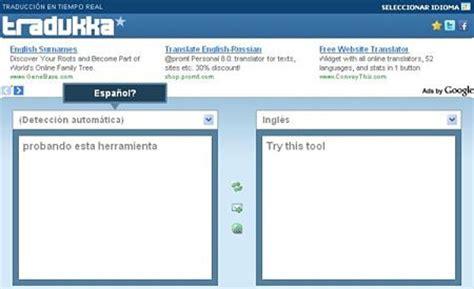 Tradukka: traductor online en tiempo real
