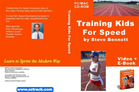 Training Kids for Speed Activity CD Coaching Training ...