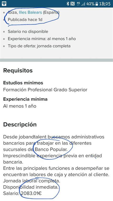 Trampa del Santander a los trabajadores del Popular ...