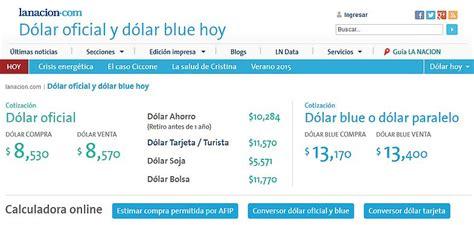 Tránsito Córdoba   Cotización del dólar en Argentina