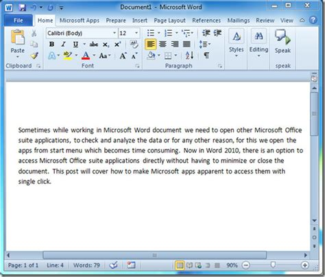 Translate Document In Word 2010