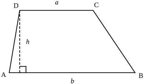 Trapezoid   Wikipedia