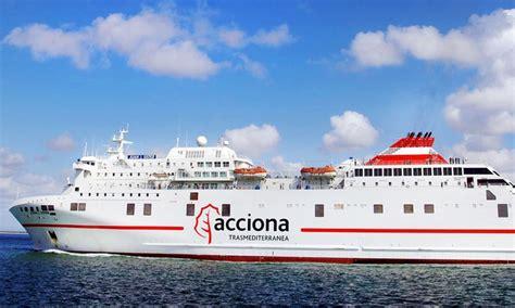 Trasmediterránea, ferry Barcelona - Palma de Mallorca ...