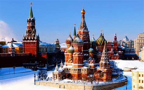 Travel Russia, Moscow Tourist Attractions – Travel Around ...
