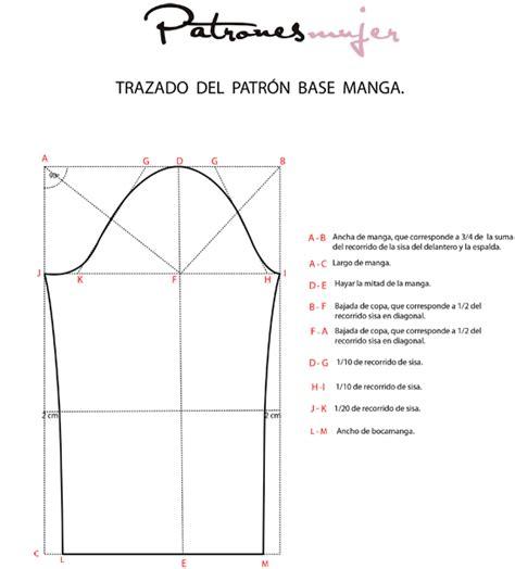 Trazado da la manga base. - Blog de costura, moda y ...